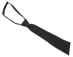 Minimatt női tépőzáras nyakkendő - Fekete Női nyakkendők, csokornyakkendő