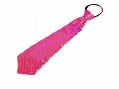 Nyakkendő flitterekkel - Pink Női nyakkendők, csokornyakkendő