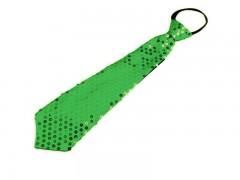 Nyakkendő flitterekkel - Almazöld Női nyakkendők, csokornyakkendő