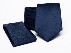 Prémium nyakkendő szett - Sötétkék Szettek