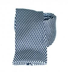 Vincitore kötött nyakkendő - Fekete-fehér Kötött nyakkendők