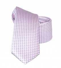 Goldenland slim nyakkendő - Lila pöttyös