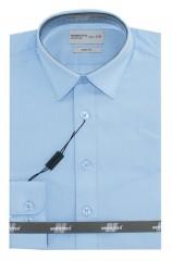 Newsmen gyerek slim hosszúujjú ing - Égszínkék Gyermek ingek
