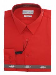 Newsmen gyerek slim hosszúujjú ing - Piros Gyermek ingek