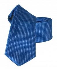 NM slim nyakkendő - Kék aprópöttyös
