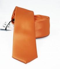 NM slim szatén nyakkendő - Narancs