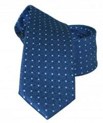 NM slim nyakkendő - Kék pöttyös
