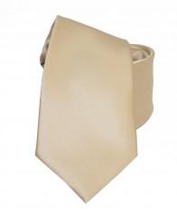 NM szatén nyakkendő - Világosarany