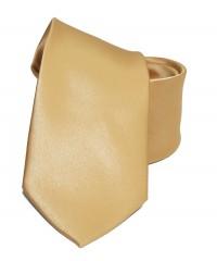 NM szatén nyakkendő - Óarany Egyszínű nyakkendő
