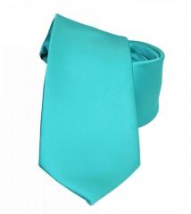 NM szatén nyakkendő - Tűrkíz
