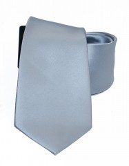 NM szatén nyakkendő - Ezüst