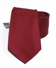 NM szatén nyakkendő - Bordó