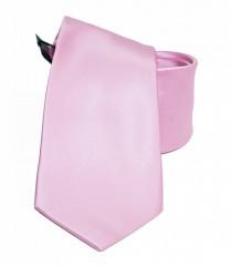NM szatén nyakkendő - Rózsaszín Egyszínű nyakkendő
