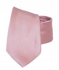 NM szatén nyakkendő - Púderrózsaszín Egyszínű nyakkendő