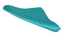NM szatén díszzsebkendő - Tűrkíz