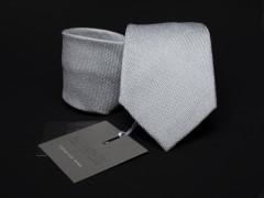 Prémium selyem nyakkendő - Halványszürke Selyem nyakkendők