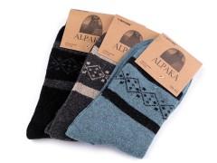 Férfi téli zokni - 3 pár Férfi zokni, pizsama