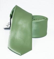 NM slim szatén nyakkendő - Zöld