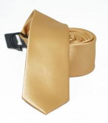 NM slim szatén nyakkendő - Arany