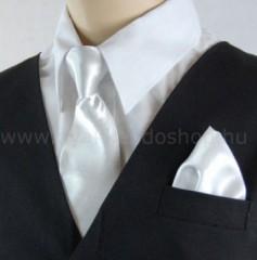 Gyerek nyakkendő szett - Fehér Szettek