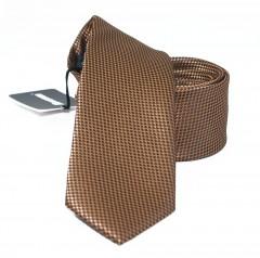 NM slim nyakkendő - Barna szövött