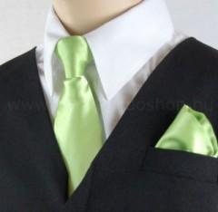 Gyerek nyakkendő szett - Almazöld Szettek