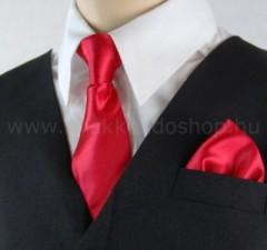 Gyerek nyakkendő szett - Piros Szettek