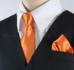 Gyerek nyakkendő szett - Narancssárga Szettek