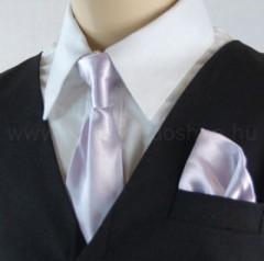 Gyerek nyakkendő szett - Halványlila Szettek