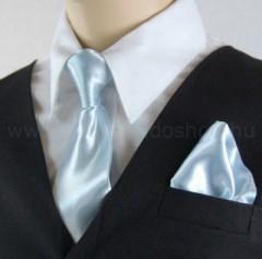 Gyerek nyakkendő szett - Világoskék Szettek