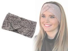 Női téli fejpánt flitterekkel  Női kalap, sapka