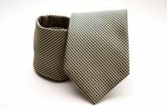 Prémium nyakkendő -  Sárga-fekete aprókockás Kockás nyakkendők