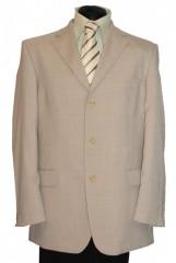 Gyapjús nyári zakó - Natur Férfi kabát, zakó