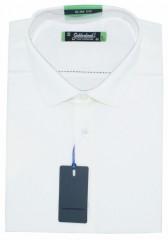 Goldenland slim rövidujjú ing - Fehér Rövidujjú ing