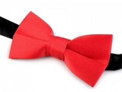 Gyerek szatén csokornyakkendő - Piros Csokornyakkendő