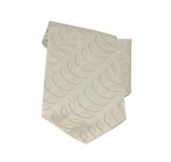 Saint Michael selyem nyakkendő - Halvány drapp mintás Mintás nyakkendők