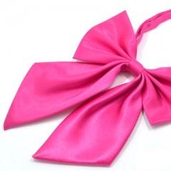 Szatén női csokornyakkendő - Pink Női nyakkendők, csokornyakkendő