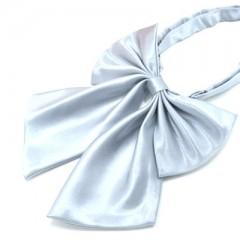Szatén női csokornyakkendő - Ezüst Női nyakkendők, csokornyakkendő