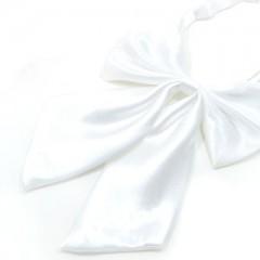 Szatén női csokornyakkendő - Fehér Női nyakkendők, csokornyakkendő