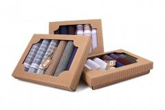 Ajándék zsebkendő szett - 6 db/csomag