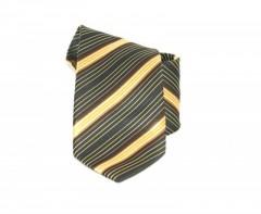 Classic prémium nyakkendő - Fekete-sárga csíkos Csíkos nyakkendő