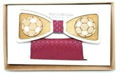 Fa csokornyakkendő szett - Focilabda Francia, Ascot, Különlegesség